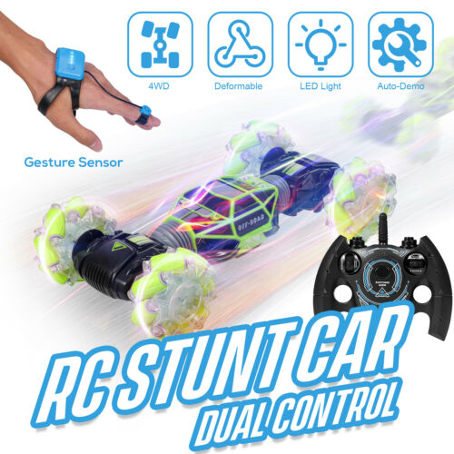 4WD RC Cars Remote Control Truck 2.4G Racing Vehicles Children'S Day Gifts O0Z0