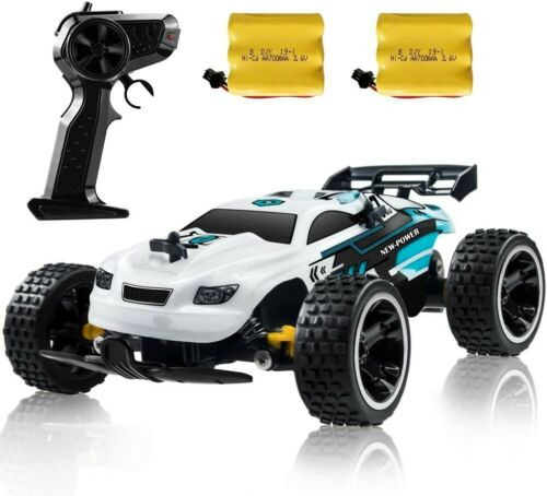 netjett RC Racing Car 2.4Ghz High Speed Remote Control Car For , White - NEW