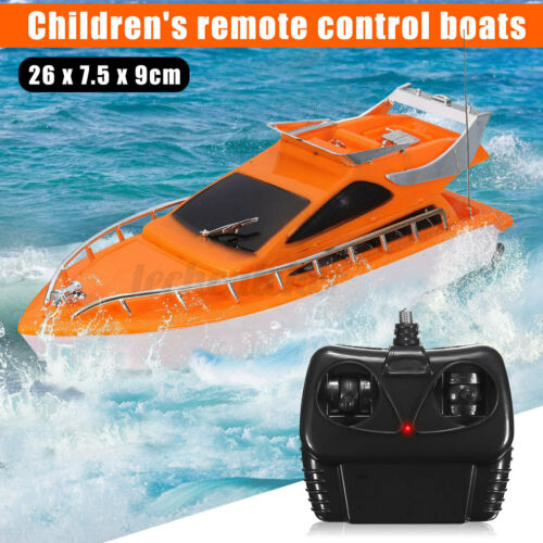 USA Electric Racing RC Speed Boat High Speed Ship Remote Control Kid Toy Gift