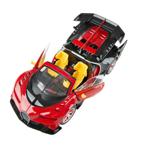 1/14 Electric RC Remote Control Convertible Car Open Doors Sound Lights  Toy