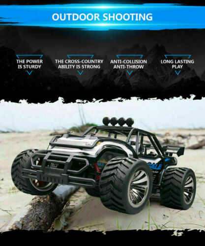 2WD High Speed Remote Control Electric RC Car Off Road Desert Buggy Vehicle A3