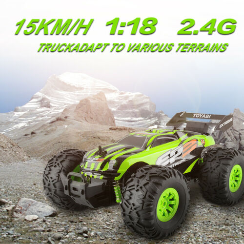 1/18 RC Car 4WD Monster Truck 2.4G Remote Control Racing car Buggy RTR Off Road
