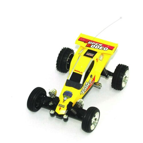 1:52 Remote Control Car Mini RC KART Racing BUGGY - Yellow Color US Seller