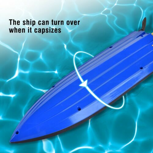 H100 RC Boat 2.4G Racing High Speed Remote Control 180° Toy Gift + Batteries USA