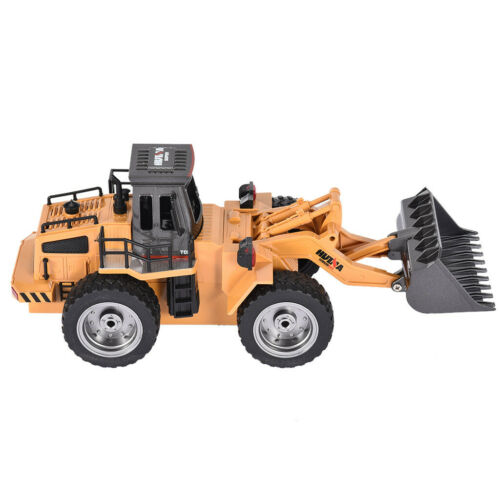 netjett 1520 Remote Control 2.4G 6CH Metal Alloy Engineering Dump Truck RC Car Toy