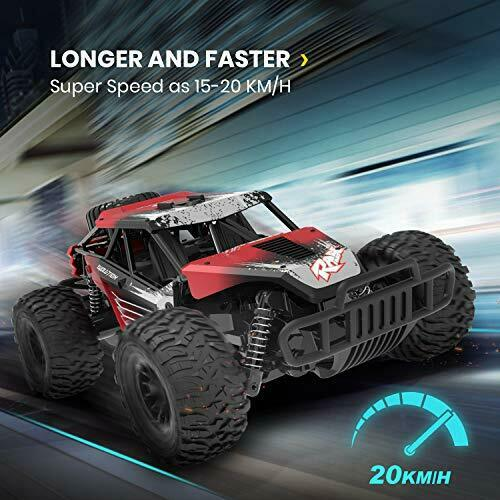 netjett DE37 RC Truck Speed 2.4Ghz 1:16 Scale Car Remote Control  Toy Off Road