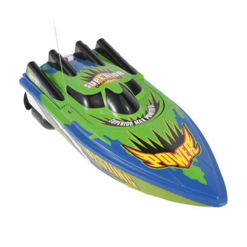 RC Boat High Speed Fast Ship Racing Radio Controlled Motor Boat Toy Kid US Y2D2