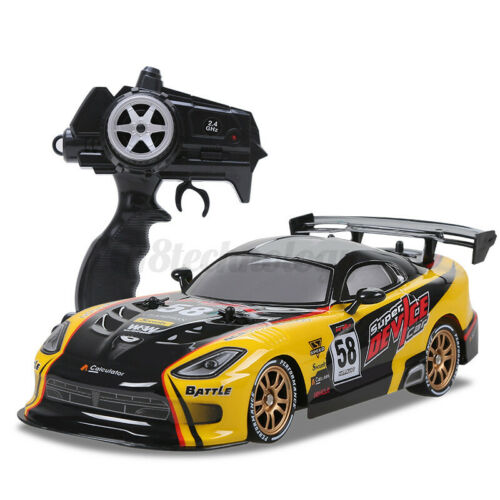 4WD 1:16 2.4G Remote Control Car High Speed RC Electric Monster Truck Off Kit US