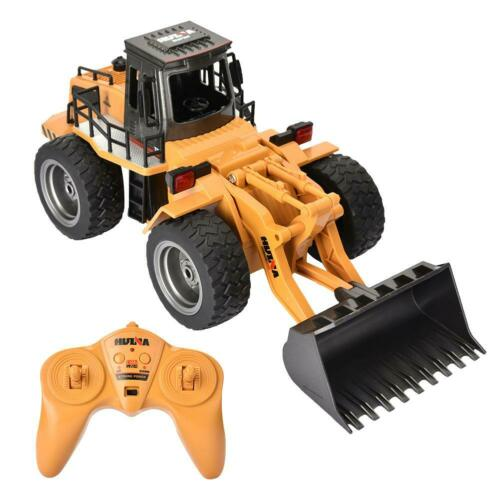 netjett 1520 1/16 6 Channel RC Excavator Bulldozer Remote Control Car Construction