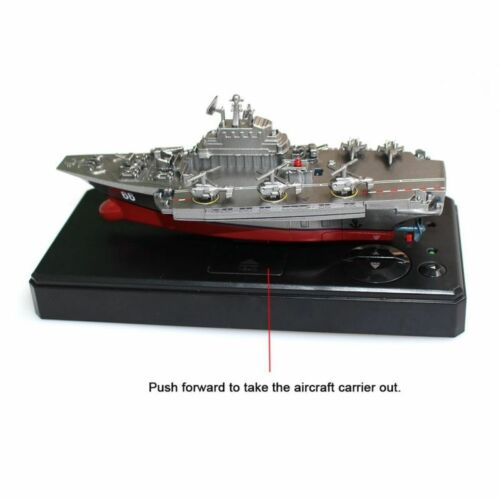 Remote Control Speed Boat Aircraft Carrier RC Water Toy for Toddler Kid Gift New