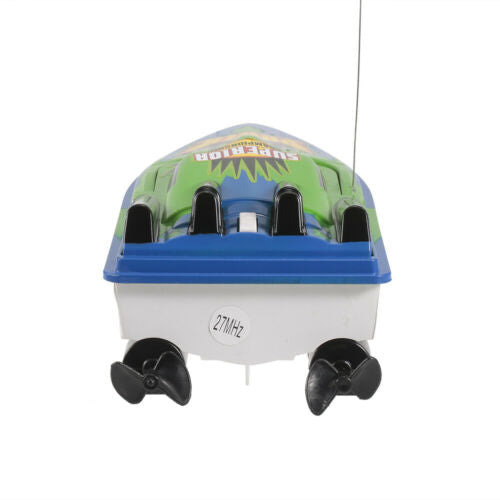 RC BOAT HIGH SPEED RADIO CONTROLLED MOTOR 20KM/H REMOTE CONTROLLED TOY GIFT U2V7