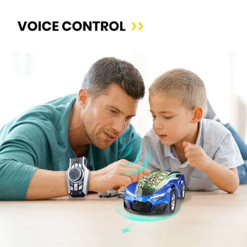 netjett Racing RC Car 2.4G Voice Smart Command Watch Remote Control Car  Toys