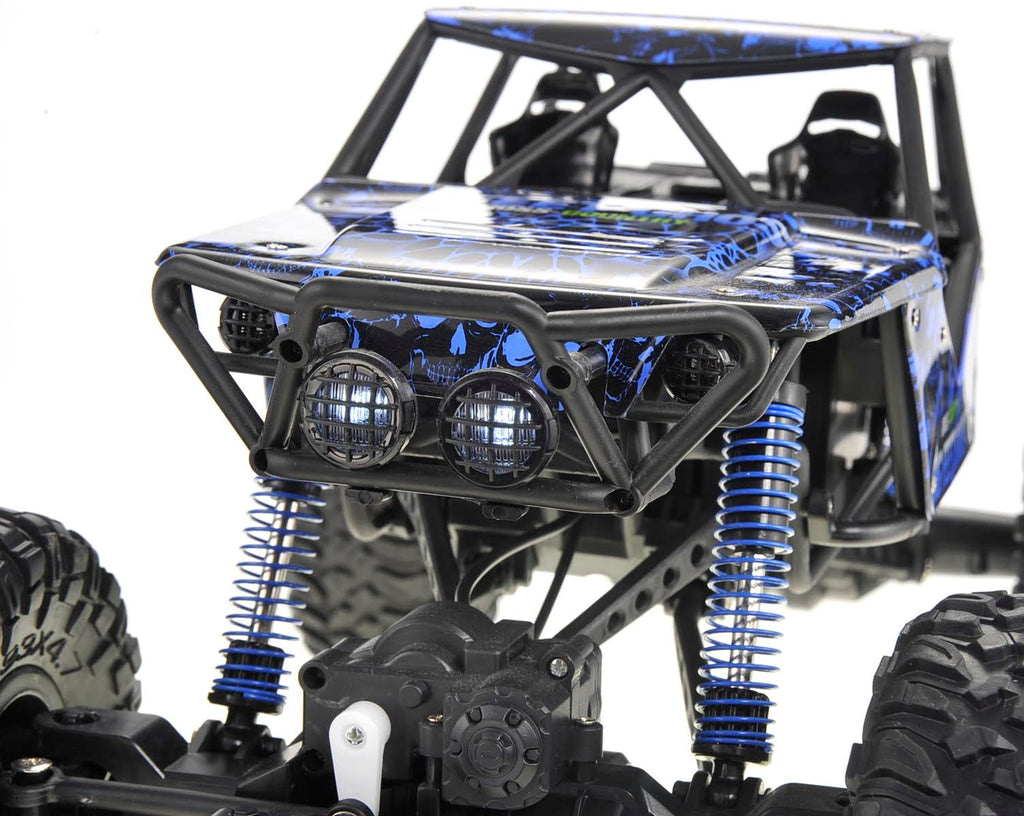 IBOT 1:10 Remote Controlled RC 2.4G 4WD Rally Rock Crawler Car (Blue)