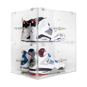 (Backordered ETA: 11/15) 2-Pack Men's Large TSB Double Door ShoeBoxes for High Tops & Heels
