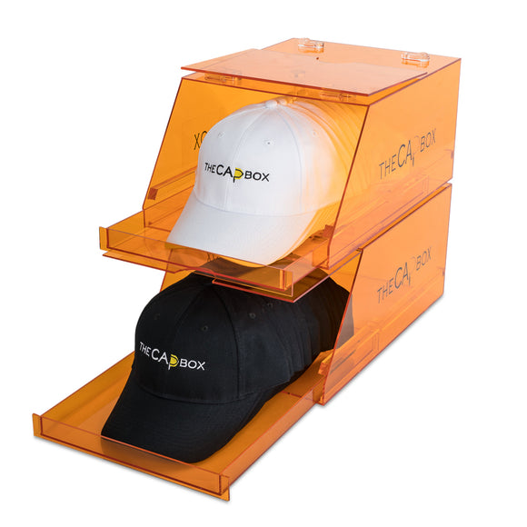 (Backordered until Nov. 15th) The Orange Glasshouse CapBox Transparent