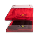 (Backorderd ETA 12/11-12/19) The Red Glasshouse CapBox Transparent