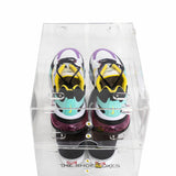 2 Pack Small TSB Double Door ShoeBoxes for Low Tops, Flats, High Tops and Heels