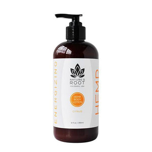 Citrus Hemp Body Lotion, Energizing