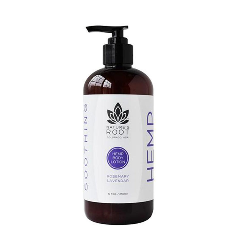 "Rosemary Lavander Hemp Body Lotion ""Soothing"""