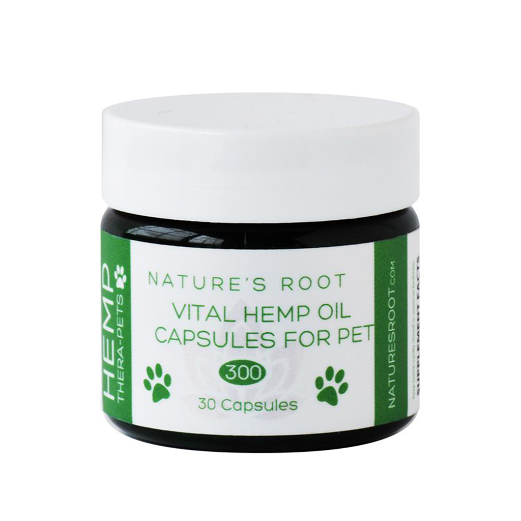 Thera-Pets Vital Hemp Oil Capsules