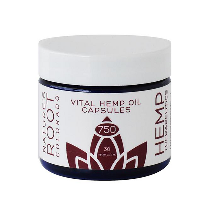 Vital Cannabidiol Rich Hemp Oil Capsules