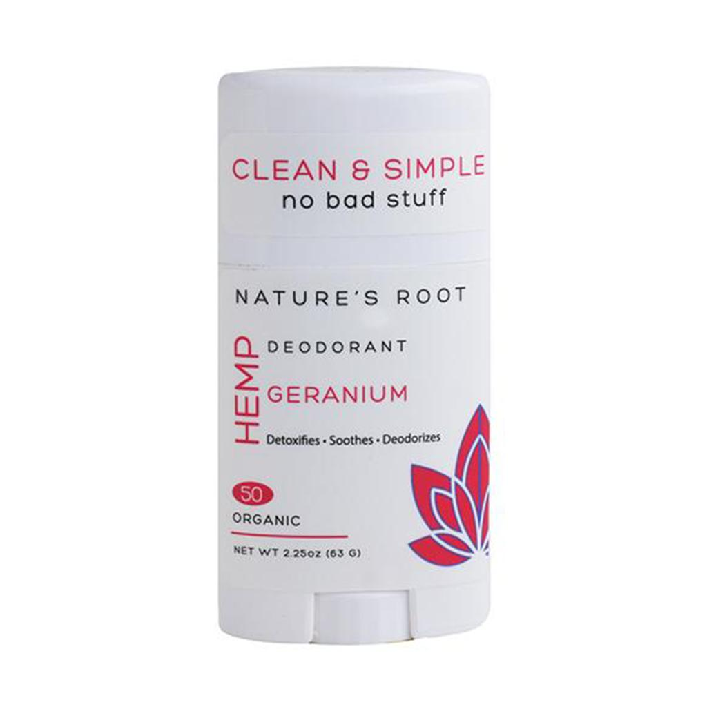 Hemp Deodorants Geranium