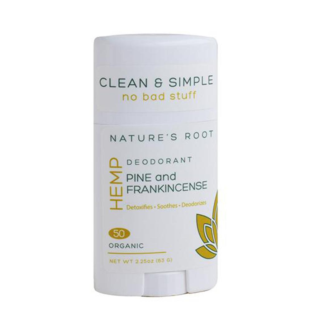 Hemp Deodorants Pine & Frankincense, Travel