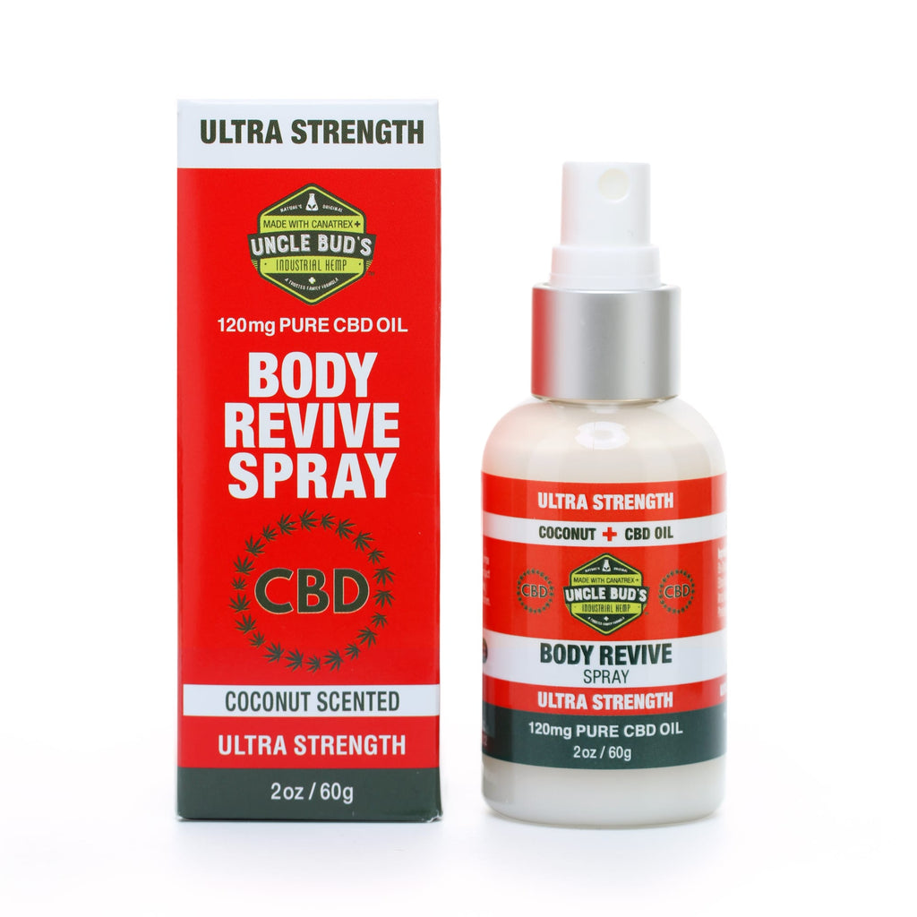 Uncle Bud`s Revive Spray 120 CBD