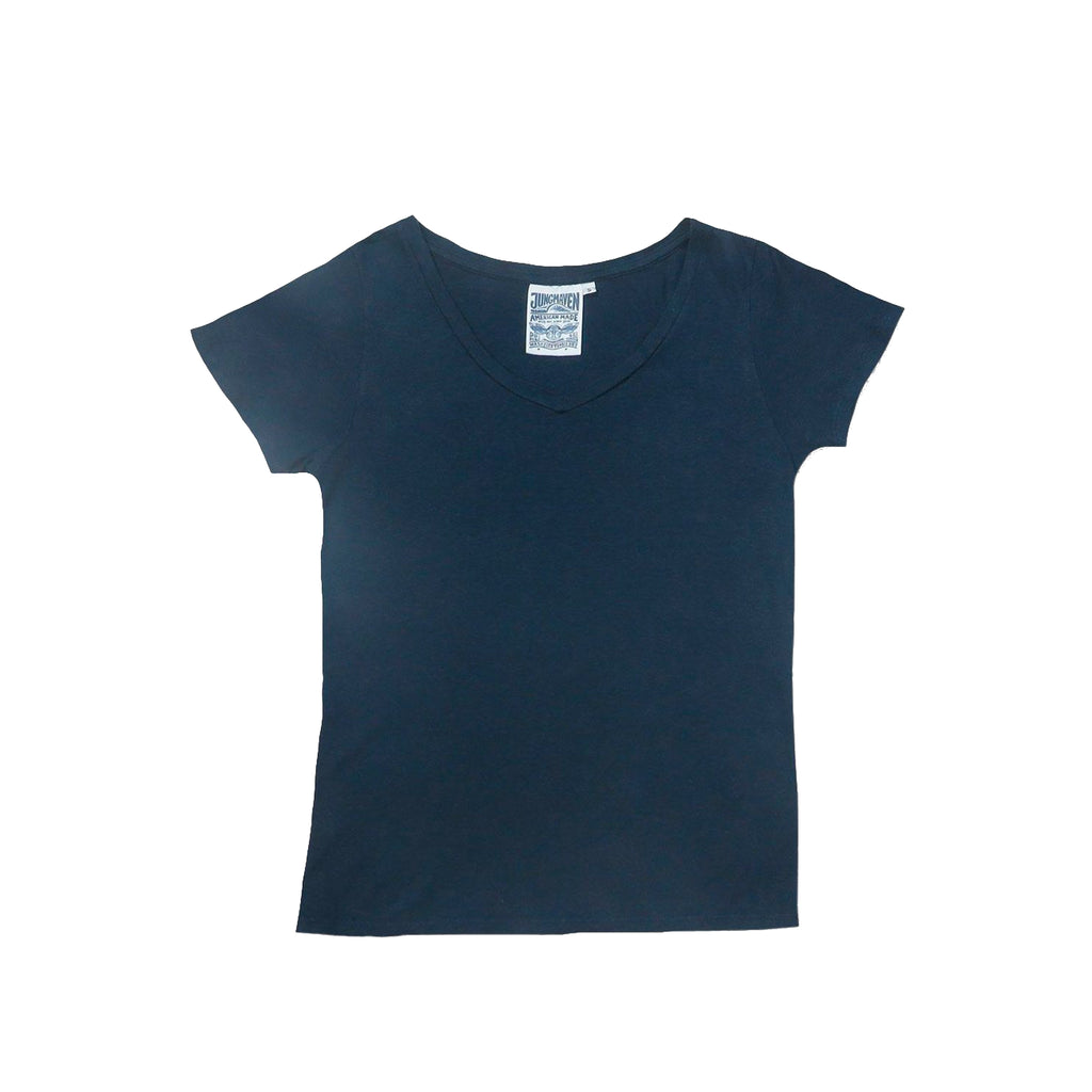 Paige V-Neck Navy