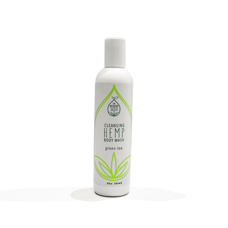 Hemp Body Wash - Green Tea