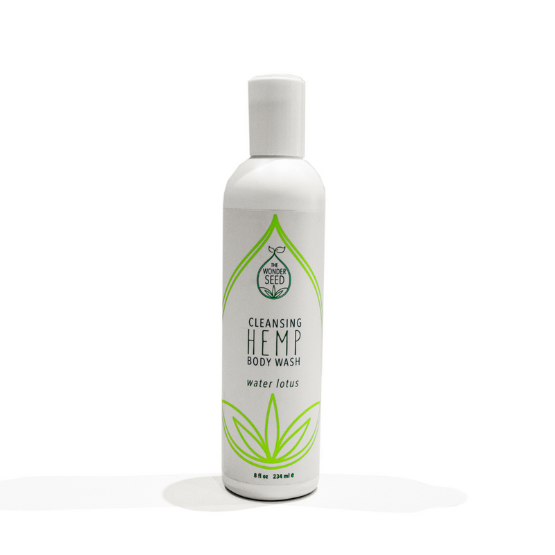 Hemp Body Wash - Water Lotus