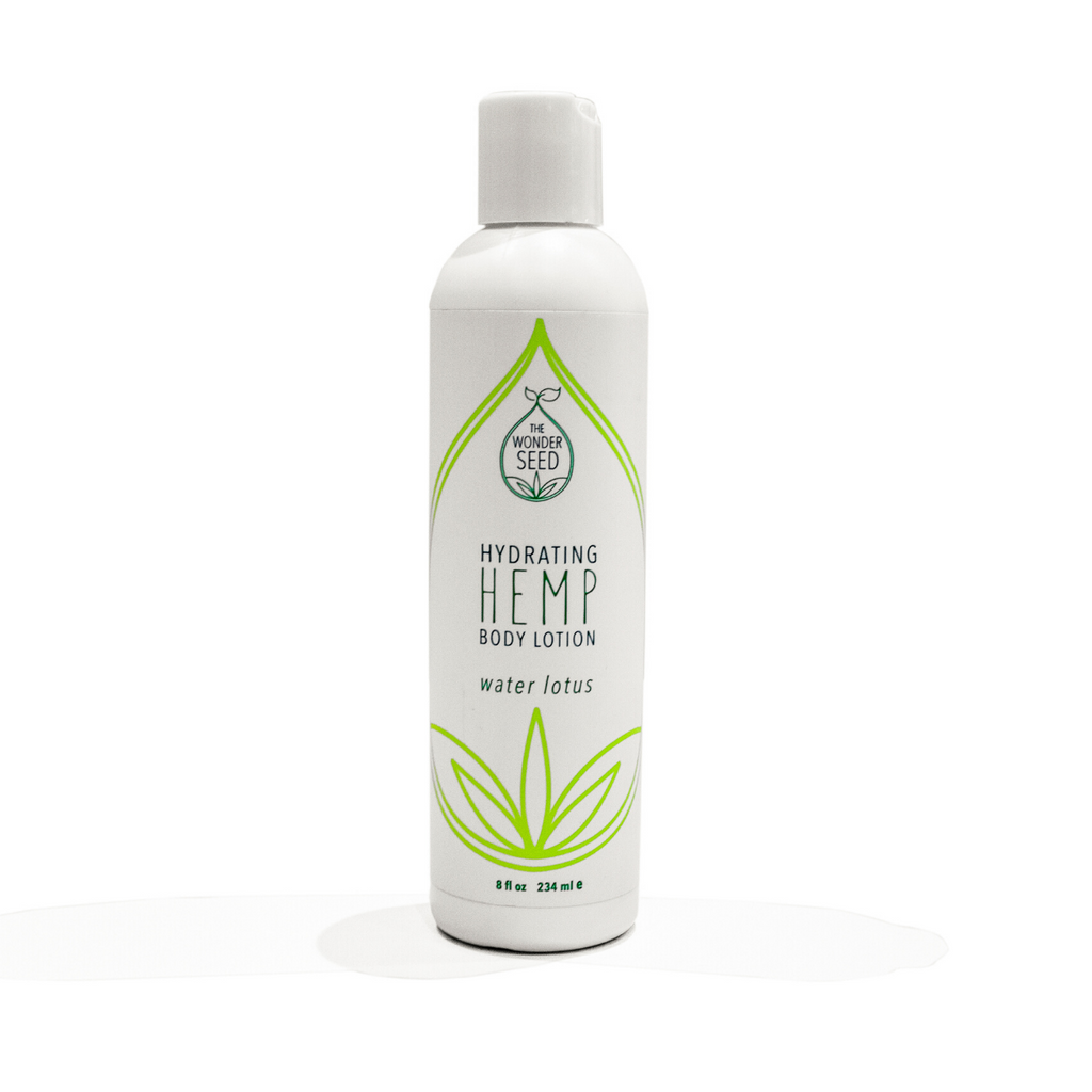 Hemp Body Lotion - Water Lotus