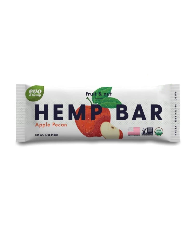 Hemp Fruit & Nut Bar, 1.7oz
