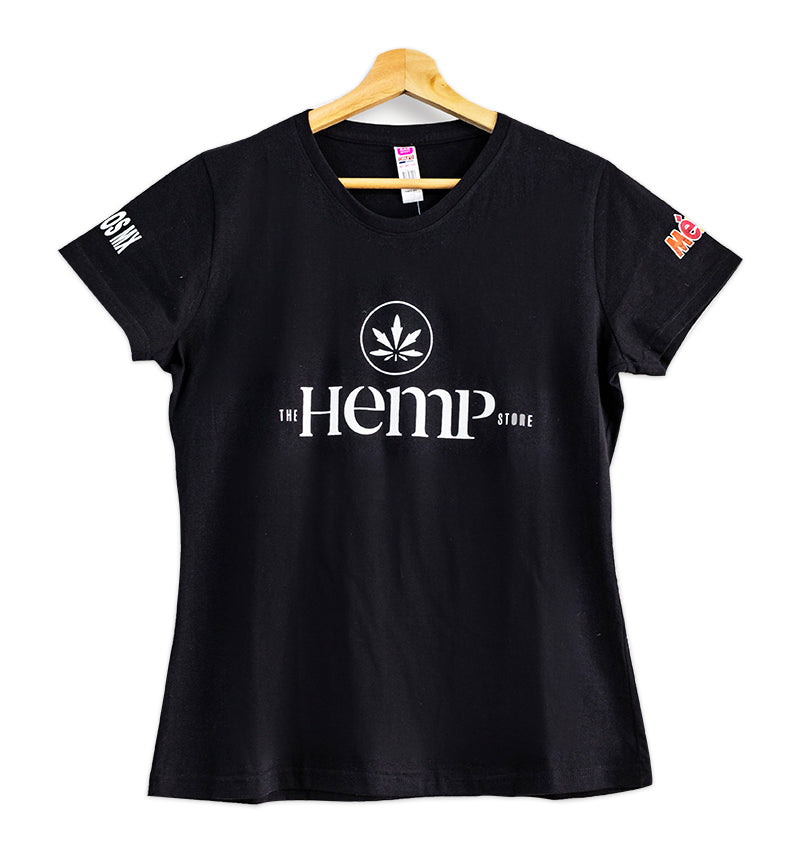 Women Tshirts Black, The Hemp Store
