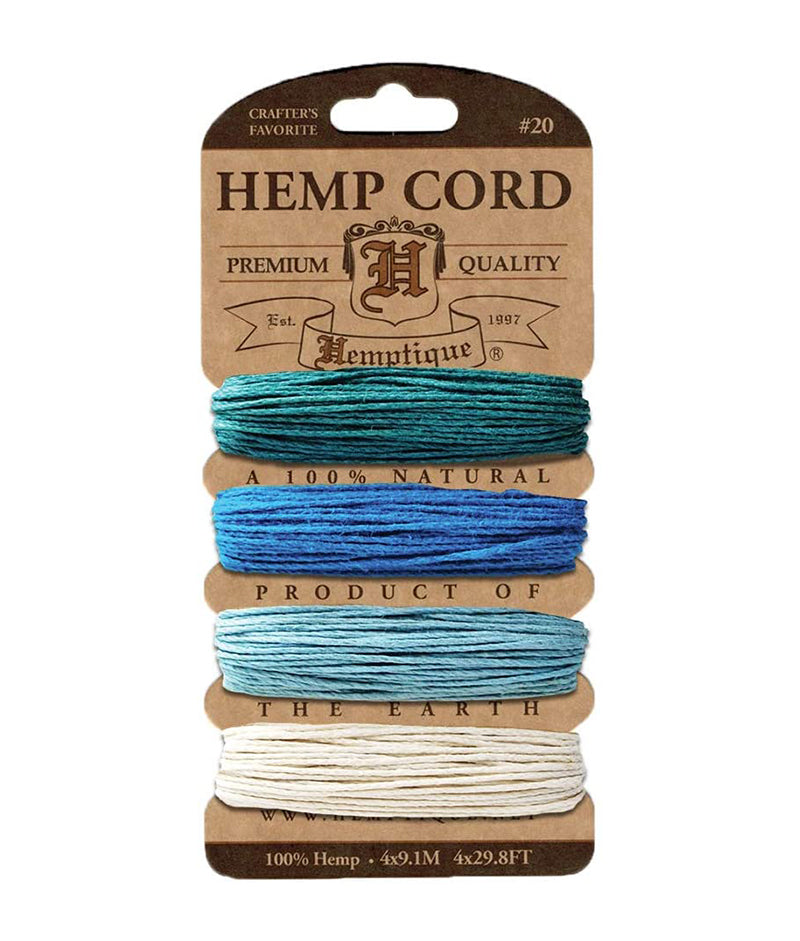 HEMP CORD AQUAMARINE