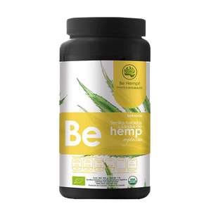 Be Hemp! Raw Food, Organic Toasted&Salted Hemp Seeds, 1LB