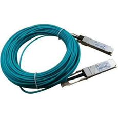 HPE X2A0 40G QSFP+ to QSFP+ Active Optical Cable, 20m, Network Cable for Switches  - JL289A