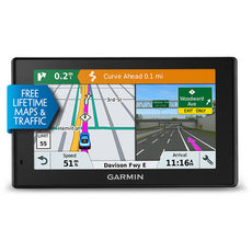 "Garmin DriveSmart 51 LMT-S Automobile Portable GPS Navigator, 5"" Touchscreen Color Display, Mountable, Black - 010-01680-02"