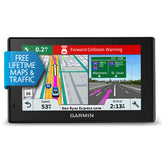 "Garmin DriveAssist 51 LMT-S Automobile Portable GPS Navigator, 5"" Touchscreen Color Display, Dash Cam, Mountable, Black - 010-01682-02"