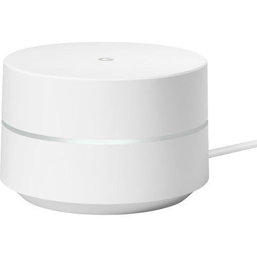 Google Ethernet Wireless Router, 2.40 GHz ISM Band, 5 GHz UNII Band, 1200 Mbit/s Wireless Speed, White - GA00158-US
