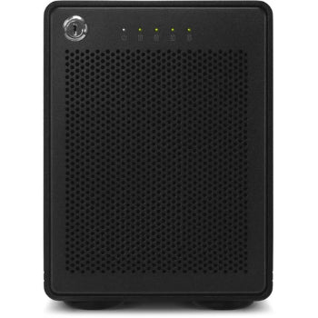 OWC ThunderBay 4 24TB 4-Drive HDD Storage Solution, 4 x 6TB, RAID-5, 128MB Cache, Thunderbolt 3 (USB Type-C) Cable - OWCTB3SRT24.0S