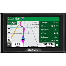 "Garmin Drive 52 Automobile Portable GPS Navigator, 5"" Touchscreen Color Display, Mountable, Black - 010-02036-07"