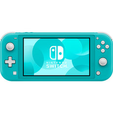 "Nintendo Switch Lite 32GB Gaming Console, Turquoise Built-in Controllers, D-pad, 5.5"" (1280x720) Touchscreen, WiFi - HDHSBAZAA"