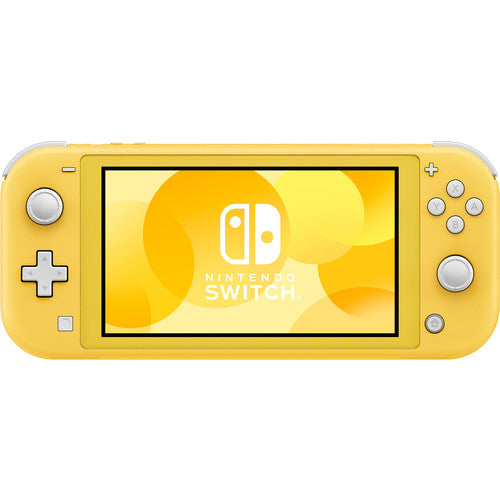 "Nintendo Switch Lite 32GB Gaming Console, Yellow Built-in Controllers, D-pad, 5.5"" (1280x720) Touchscreen, WiFi - HDHSYAZAA"