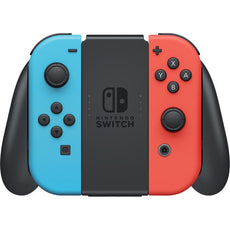 "Nintendo Switch 32GB Console with Neon Blue & Neon Red Joy-Con Controllers, 6.2"" (1280x720) Touchscreen, WiFi - HADSKABAA"