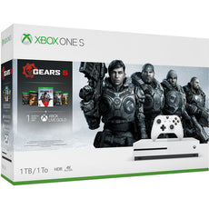 Microsoft Xbox One S Gears 5 Bundle, 1TB HDD, 8GB RAM, Wireless Gaming Console - 234-01020
