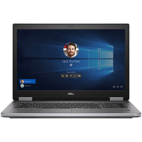 "Dell Precision 7740 17.3"" FHD Mobile Workstation, Intel i7-9850H, 2.60GHz, 32GB RAM, 1TB SSD, Win10P - SBR62 (Certified Refurbished)"