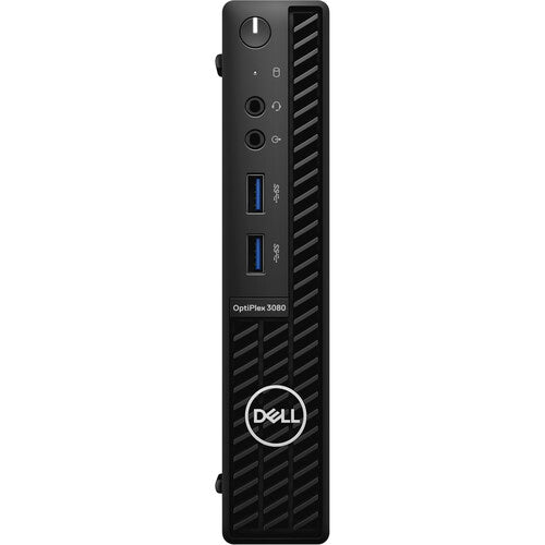 Dell OptiPlex 3080 Micro Desktop, Intel i5-10500T, 2.30GHz, 8GB RAM, 256GB SSD, Win10P - RHDRD (Refurbished)