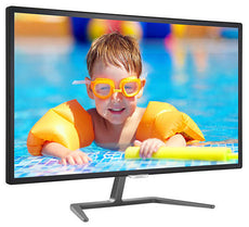 "Philips 31.5"" Full HD LCD Computer Monitor, IPS LED Display, 16:9, 5ms, 20M:1-Contrast, 60Hz, Speakers, Black - 323E7QDAB-B"
