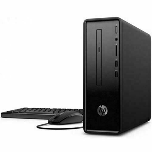 HP Slimline 290-a0011 Slim Tower Desktop PC, AMD A6-9225, 2.60GHz, 4GB RAM, 1TB SATA, Windows 10 Home 64-Bit- 3LB07AA#ABA
